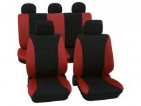Тапицерия за седалки Petex Eco-Class модел Tahiti от 11 части, червена