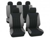 Тапицерия за седалки Petex Eco-Class модел Tahiti от 11 части, сива