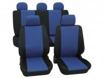 Тапицерия за седалки Petex Eco-Class модел Borneo от 11 части, синя