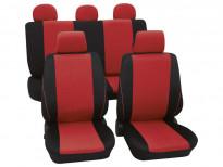 Тапицерия за седалки Petex Eco-Class модел Borneo от 11 части, червена