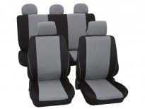 Тапицерия за седалки Petex Eco-Class модел Borneo от 11 части, сива