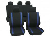Тапицерия за седалки Petex Eco-Class модел Samoa от 11 части, синя