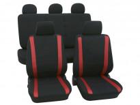 Тапицерия за седалки Petex Eco-Class модел Samoa от 11 части, червена