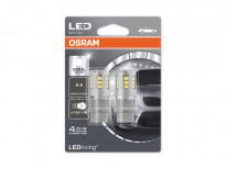 Комплект 2 броя LED лампи Osram тип P27/7W 6000K, 12V, 2.5W, W2.5x16q