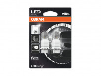 Комплект 2 броя LED лампи Osram тип P27/7W 6000K, 12V, 1.42/0.54W, W2.5x16q