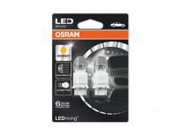 Комплект 2 броя LED лампи Osram тип PY27/7W жълти, 12V, 1.42/0.54W, W2.5x16q