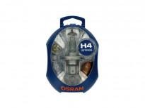 Резервен комплект H4 крушки Osram 12V