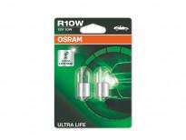Крушки Osram R10W Ultra Life 12V 10W BA15s 2бр.