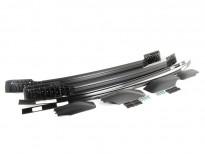 Оригинални релси за таван за BMW серия X6 E71 2008 => черни