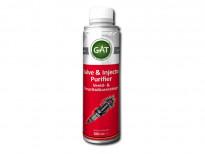 Препарат GAT за почистване на клапани и инжектори 300ml