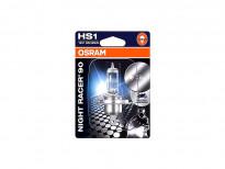 Халогенна крушка Osram HS1 Moto Night Racer 90 12V, 35/35W, PX43t, 1 брой