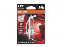 Халогенна крушка Osram H7 Moto Night Racer 110 12V, 55W, PX26d, 1 брой