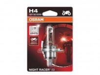 Халогенна крушка Osram H4 Moto Night Racer 50 12V, 60/55W, P43t, 1 брой