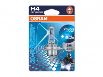 Халогенна крушка Osram H4 Moto X-Racer 12V, 60/55W, P43t, 1 брой