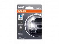 LED лампа Osram тип C5W 31mm., синя, 12V, 0.5W, SV8.5-8, 1 брой