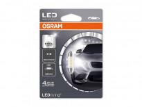 LED лампа Osram тип C5W 36mm., 6000K, 12V, 0.5W, SV8.5-8, 1 брой