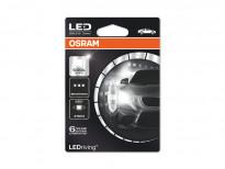 LED лампа Osram тип C3W 31мм., 6000K, 12V, 1W, SV8.5-8, 1 брой