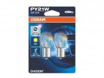 Крушки Osram PR21W Diadem 12V 21W BAW15s 2бр.
