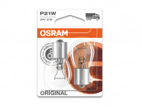 Комплект 2 броя халогенни крушки Osram P21W Original 24V, 21W, BA15s