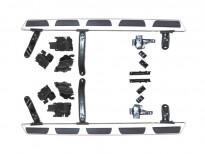 Алуминиеви степенки за Audi Q5 2008=>