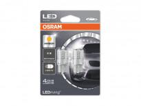 Комплект 2 броя LED лампи Osram тип WY21W жълти, 12V, 1W, W3x16d