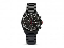 Ръчен часовник BMW лимитирана серия M с метална верижка и хронометър