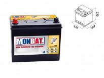 Акумулатор Monbat Formula JIS 45 Ah 330 A с ляв (+)