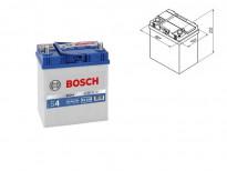 Акумулатор BOSCH Silver S4 12V 40Ah 330 A с тънки полюси с десен (+) АЗИЯ