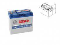 Акумулатор BOSCH Silver S4 12V 45Ah 330 A с тънки полюси с десен (+) АЗИЯ