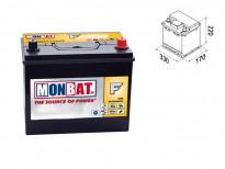 Акумулатор Monbat Formula JIS 60 Ah 450 A с десен (+)