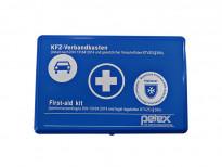 Синя аптечка Petex със съдържание според DIN 13164