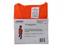 Оранжева обезопасителна жилетка Petex за дете