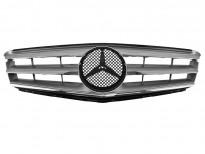 Хром/сива решетка тип Avantgarde за Mercedes C класа W204 2007-2011