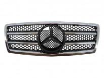 Хром/черна решетка тип AMG за Mercedes C класа W202 1993-1997