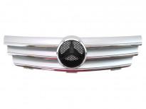 Хром/сива решетка за Mercedes C203 sport coupe 2004 =>