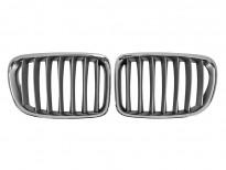 Бъбреци хром/сиви за BMW X1 E84 2009 =>