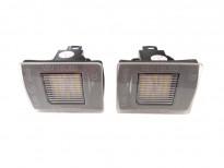 LED плафони за регистрационен номер за Mercedes W176/X156/R172/X166/W166