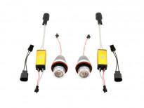 Бели LED лампи autopro за фабрични ангелски очи 25W CREE