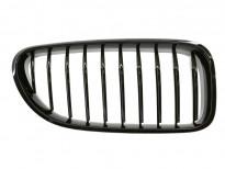 Десен бъбрек черен лак за BMW серия 6 F06/F12/F13 2011 =>