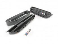Черни решетки за калниците тип M5 за BMW серия 5 E39 1995-2003/E60 седан/E61 комби 2004-2010