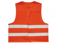 Оранжева обезопасителна жилетка Petex размер L