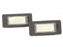LED плафони за регистрационен номер за BMW E82/E46/E90/E91/E92/E93/F30/F31/F34/E39/E60/E61/F10/F11/E84/F25/E70/F15/E71
