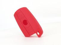 Червен силиконов калъф за ключ за BMW