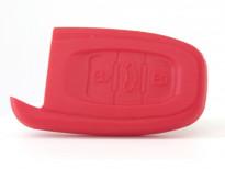 Червен силиконов калъф за ключ за Audi