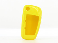 Жълт пластмасов калъф за ключ за Audi