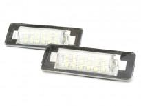 LED плафони за регистрационен номер за Mercedes C класа W202 1997-2000, E класа седан W210 1999-2002