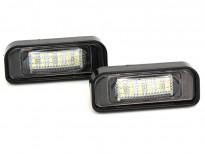 LED плафони за регистрационен номер за Mercedes S класа W220 1999-2005