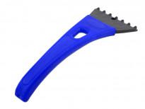 Стъргалка за лед със стандартна дръжка Petex 25 см синя