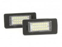 LED плафони за регистрационен номер за Volkswagen Golf Vi/Golf Plus/Jetta/Passat/Sharan/Touran/Touareg