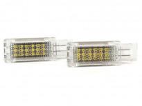LED плафон за осветление под вратите за Mercedes W203/C207/C209/R171/SLR/W639